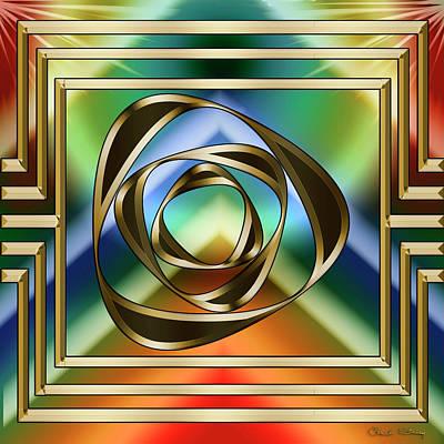 Digital Art - Art Deco 34 by Chuck Staley