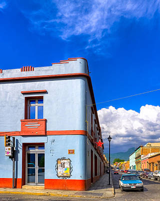Photograph - Art Deco Blues In Mexico by Mark E Tisdale