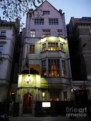 Photograph - Art Deco Building London by Lexa Harpell