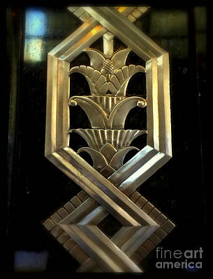 Photograph - Art Deco Chrysler Building Detail - Closeup by Miriam Danar