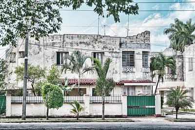 Photograph - Art Deco Cuba by Sharon Popek
