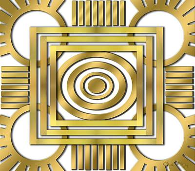 Digital Art - Art Deco 20 by Chuck Staley