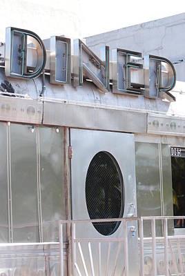Art Deco Diner Original by Rob Hans