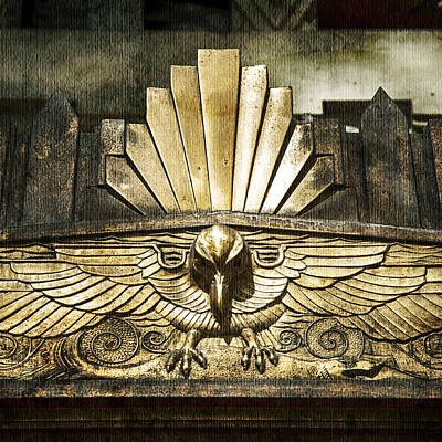 Photograph - Art Deco Eagle by Theresa Tahara
