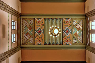 Photograph - Art Deco East Anteroom by Nikolyn McDonald