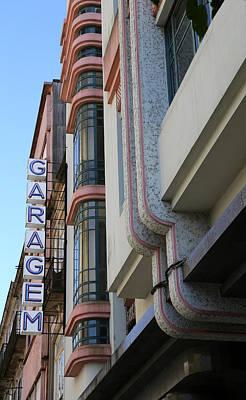 Photograph - Art Deco Garage 1 by Andrew Fare
