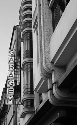 Photograph - Art Deco Garage 1b by Andrew Fare