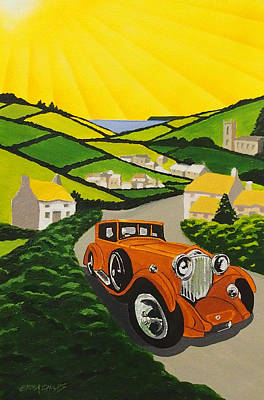 Art Deco In The Country Original by Emma Childs
