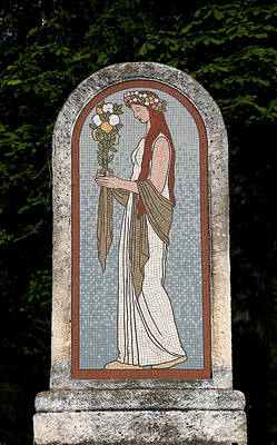 Photograph - Art Deco Mosaic 1 by Andrew Fare