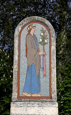 Photograph - Art Deco Mosaic 2 by Andrew Fare