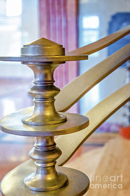 Photograph - Art Deco Newel Post At Lakefront Airport New Orleans by Kathleen K Parker