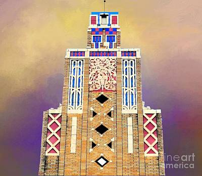Photograph - Art Deco Public Market Tower by Janette Boyd