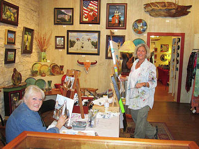 Painting - Art Demo by Patti Schermerhorn
