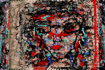 Outsider Art Mixed Media - Art Effects by Natalie Holland
