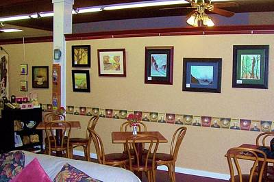 Gallatin Painting - Art Exhibit @ Goven Coffee House In Gallatin by Peggy Leyva Conley