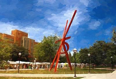 Art Fair Painting Art Print