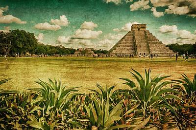 Art For America -- Chichen Itza Pyramid No. 1 Art Print