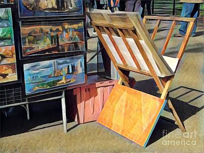 Photograph - Art For Sale - Summer In The Park by Miriam Danar