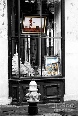 Photograph - Art Fusion In The French Quarter by John Rizzuto