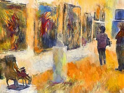 Digital Art - Art Gallery 1 by Yury Malkov