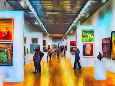 Digital Art - Art Gallery 2 by Yury Malkov