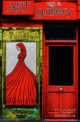 Art Gallery Shop Front Art Print