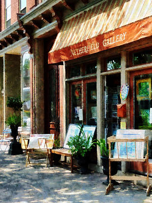 Store Photograph - Art Gallery by Susan Savad