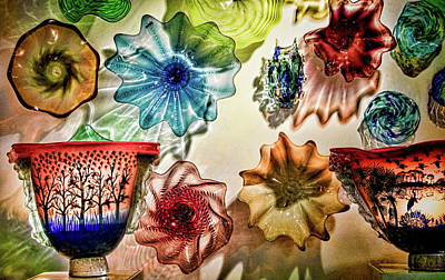 Photograph - Art Glass by Richard Goldman