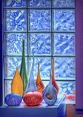 Photograph - Art Glass Still Life by Nikolyn McDonald