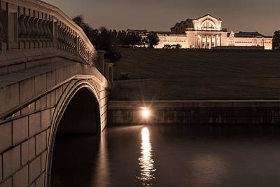 Photograph - Art Hill Bridge And Museum by Scott Rackers