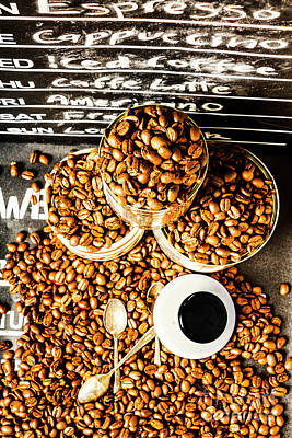 Cafe Art Photograph - Art In Commercial Coffee by Jorgo Photography - Wall Art Gallery