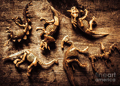 Art In Palaeontology Art Print