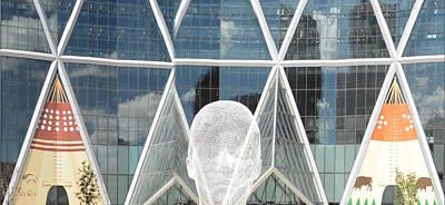 Photograph - Art In The City Of Calgary by Nicki Bennett