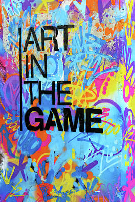 Photograph - Art In The Game by Munir Alawi