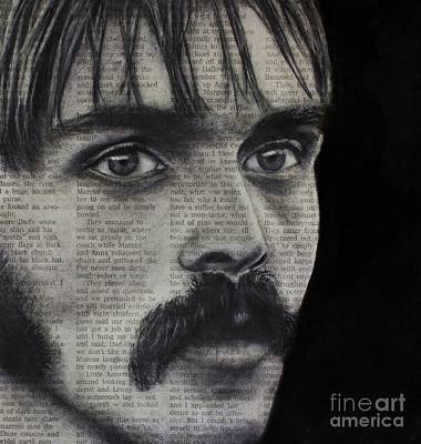 Photograph - Art In The News 95-steve Prefontaine by Michael Cross