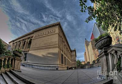 Photograph - Art Institute In Morning by David Bearden