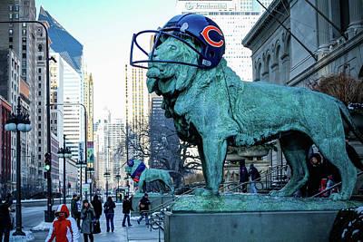 Art Institute Of Chicago Lions Art Print