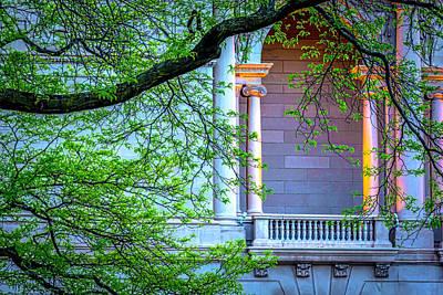 Photograph - Art Institute Of Chicago South Garden V2 Dsc4581 by Raymond Kunst