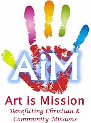 Digital Art - Art Is Mission Logo by Jim Harris
