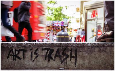 Photograph - Art Is Trash by Stewart Marsden