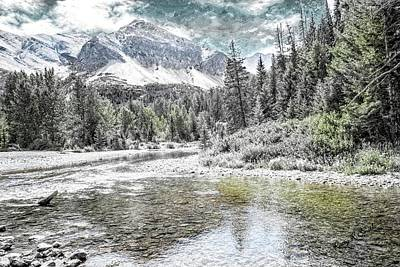 Digital Art - Art Landscape North Western Montana. by Rusty R Smith