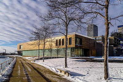 Photograph - Art Museum Expansion by Randy Scherkenbach