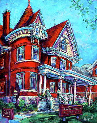 Painting - Art Museum by Les Leffingwell