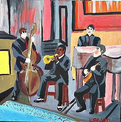 Painting - Art Museum Reception by Kerin Beard
