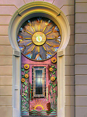 Photograph - Art Nouveau Doorway by Dominic Piperata