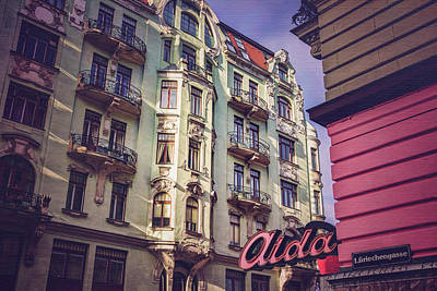 Art Nouveau In Vienna  Art Print