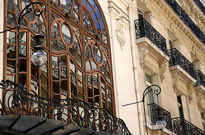 Photograph - Art Nouveau Paris 1 by Andrew Fare