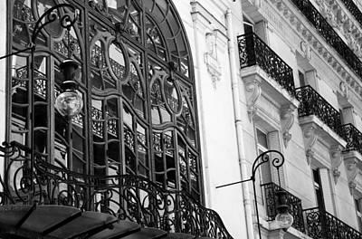Photograph - Art Nouveau Paris 2 by Andrew Fare