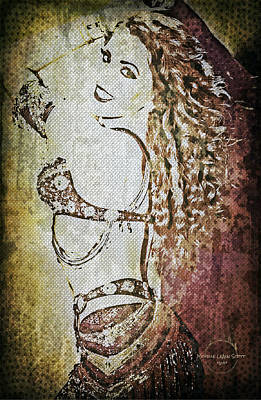 Digital Art - Art Of Belly Dance by Absinthe Art By Michelle LeAnn Scott