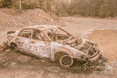 Photograph - Art Of Car Abandonment by Jorgo Photography - Wall Art Gallery